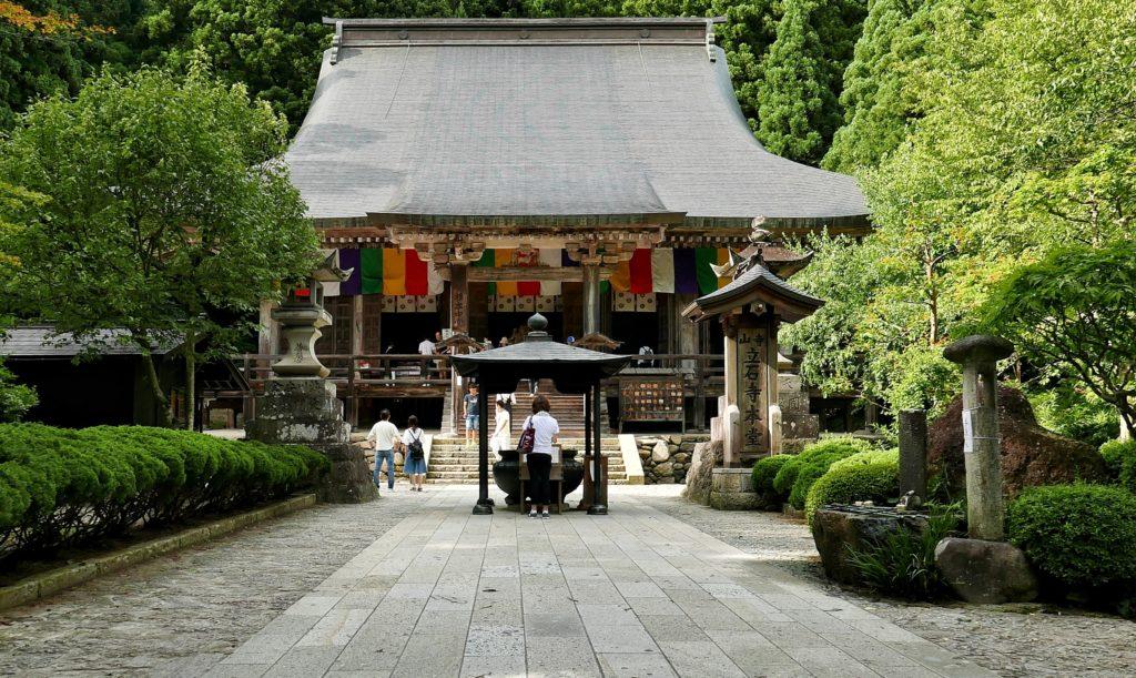 山寺の根本中堂